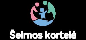 Logotipas_Seimos kortele_baltas